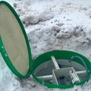 Монтаж септиков Тополь зимой фотография