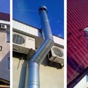 Выбор подходящего дымохода для частного дома фотография