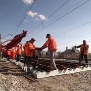 Железнодорожники отремонтировали 137 км пути фотография