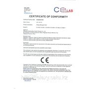 сертификат соответсвия кресла iRest - Imperial