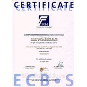 огневзломостойкие сейфы Format — сертификат ECB-S