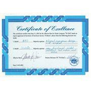"""""""Сертификат великолепия"""" от непревзойдённого мастера мебельного дизайна Альберто Ниери"""