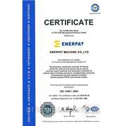 Сертификат Компании Enerpat ISO