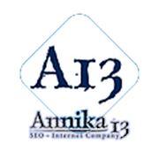 Логотип компании Анника 13 - Развитие бизнеса в интернете (Киев)