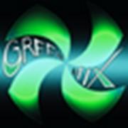 Логотип компании Грин Микс, ЧТПУП (Минск)
