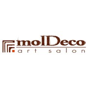 Логотип компании molDeco art-salon (Кишинев)