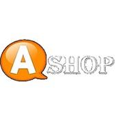 """Логотип компании Бытовая и компьютерная техники """"A-Shop"""" (Алматы)"""