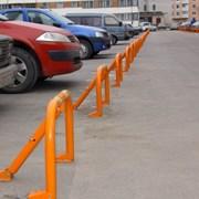 Парковочный барьер складной фото