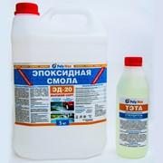 Эпоксидная смола Эд-20(5 кг) с отвердителем ТЭТА(500 гр) фото