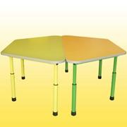 Комплект из 2-х трапецевидной столов, Код: 0308 фото