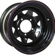 ORW ORW диск стальной MERCEdES, 5x130, 8х16, ET-19, d - 84, черный фото