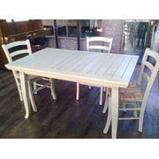 Столы из массива дуба  раздвижные и стационар . фото