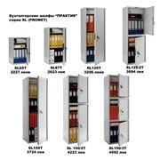 Бухгалтерские металлические шкафы серии SL фото