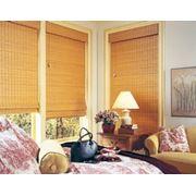 Жалюзи горизонтальные бамбуковые фото