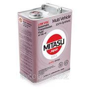 Масло для вариатора MITASU LOW VISCOSITY MV ATF 100% Synthetic 4л