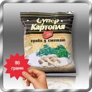 Картофельные снеки со вкусом грибов в сметане 80 грамм