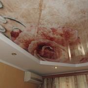 Натяжные потолки с фотопечатью в Краснодаре фото