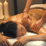 Медовый массаж. фото