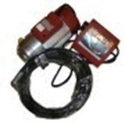 Насос масло электронный кран, счетчик, рукава-2шт фото