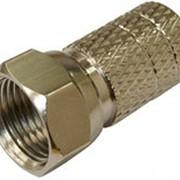 Разъем F-разьем для кабеля типа SAT с резиновым уплотнителем фото