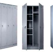 Гардеробный шкаф металлический фото