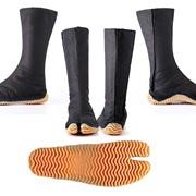 Ниндзя Шуз Японская обувь Jog 12 black фото
