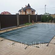 Накрытие для бетонного бассейна фото