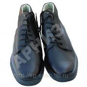 Ботинки хромовые солдатские фото