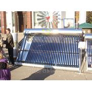 Солнечный водонагреватель JW58-36 (300л) фото