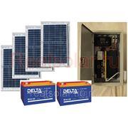 Солнечная электростанция для дачи 1200Вт Союз EX-400Вт 24В 200 А/ч фото