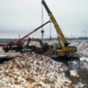 Строительство и ремонт водопроводных и канализационных сетей фото