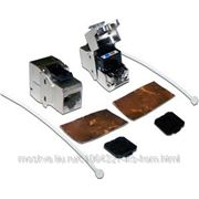 Lanmaster LAN-OK45S6A/180 Модуль Keystone, RJ45, кат.6A, STP, 180 градусов фото