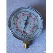 Мановакууметр 1,6 кл 63мм R-410 R-22 RGOL фото