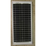Монокристаллическая солнечная батарея 20Вт. SW020М фото