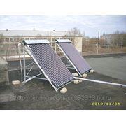 Установка солнечных сплит-систем фото