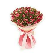 Букет цветов из кустовых роз фото