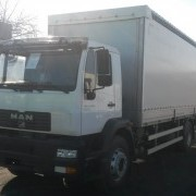 Шторный фургон MAN CLA 16.220 4X2 фото