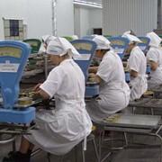 Фасовка продуктов питания в порционную упаковку: консервы рыбные фото