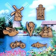 Декоративные пуговицы Голландия фото
