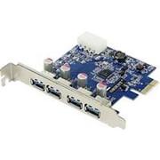 PCI-E на USB3.0 контроллер 4 внешних USB Orient NC-3U4PE NEC D720201 фото