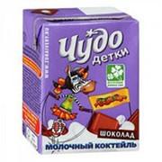 Молочный коктейль ЧУДО Детки шоколад, 200 мл фото