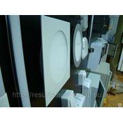 Сверхтонкий светодиодный встраиваемый светильник LEDcraft квадр. 10W бел. фото