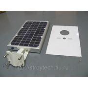 Светодиодный светильник на солнечной энергии фото