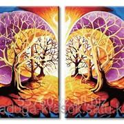 Картина по номерам Дерево мудрости фото