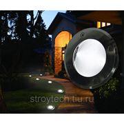 Светодиодный светильник на солнечной энергии СЕ-01 наземный фото