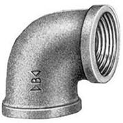 Угольник 90° ВР-ВР 1/2 - 3/8 мм. бронзовый Banninger фото