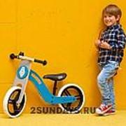 Детский беговел Kinderkraft Uniq Turquoise фото