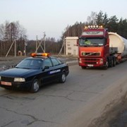 Сопровождение грузов. фото