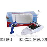 Р/у 757т-6024 лодка с зарядным устройством, в коробке 52*20*20 см (832027) фото