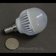 Светодиодная лампа Flesi LED G45 4W 220-240V, Е14, 4200K, естественный белый фото